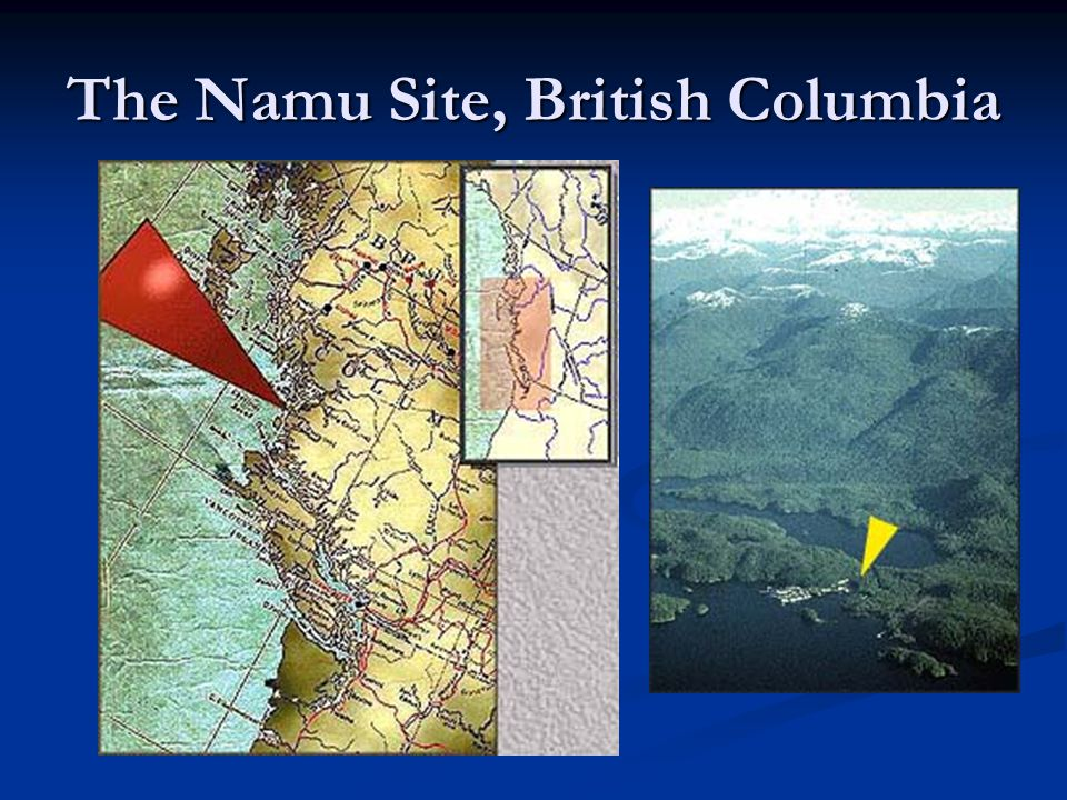 The Namu Site, British Columbia