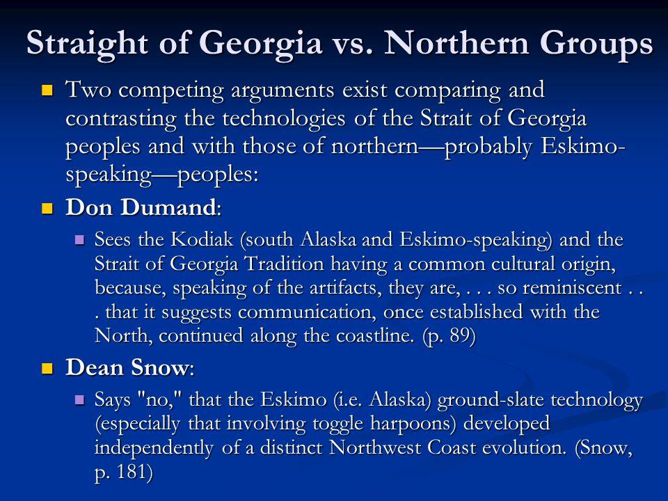 Straight of Georgia vs.