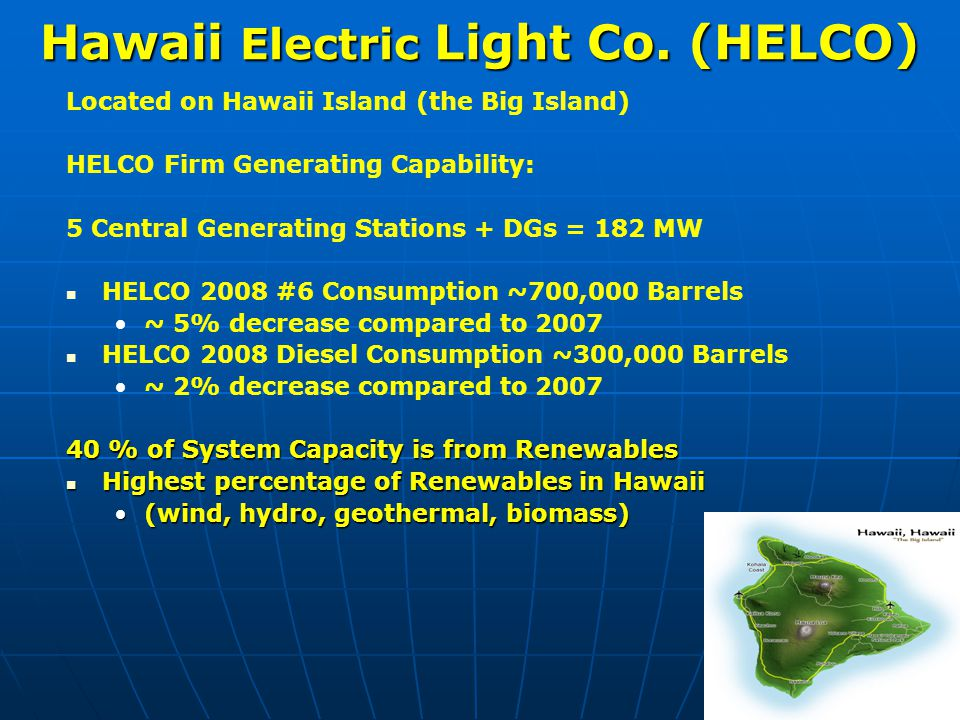 Hawaii Electric Light Co.