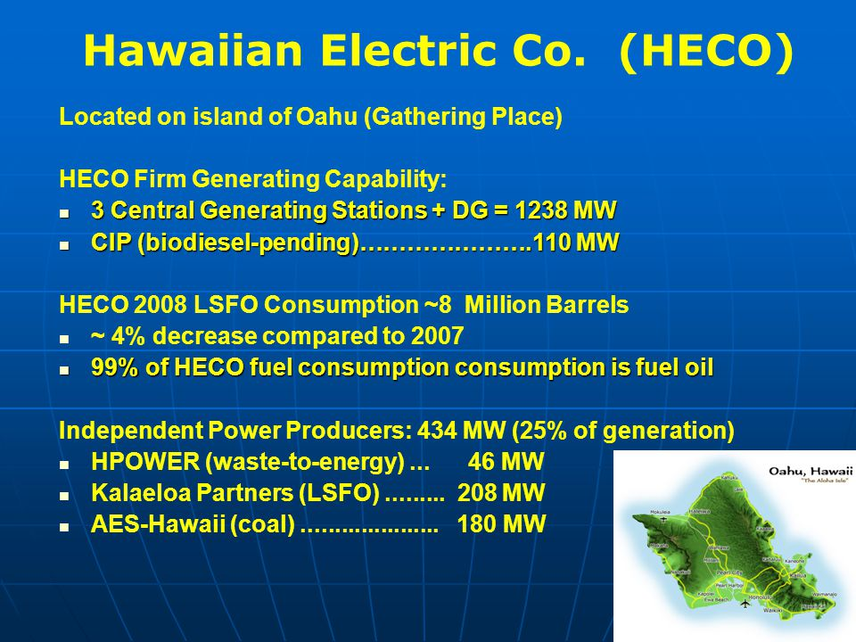 Hawaiian Electric Co.