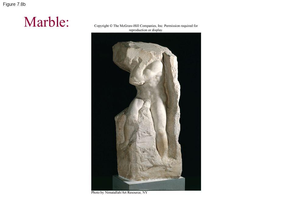 Figure 7.8b Marble: