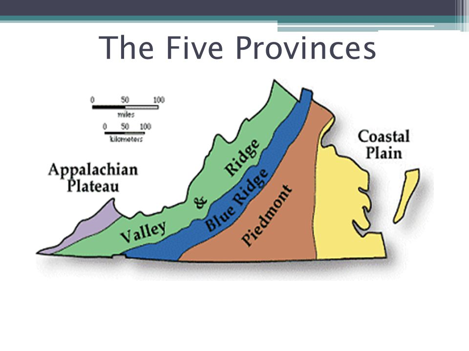 The Five Provinces