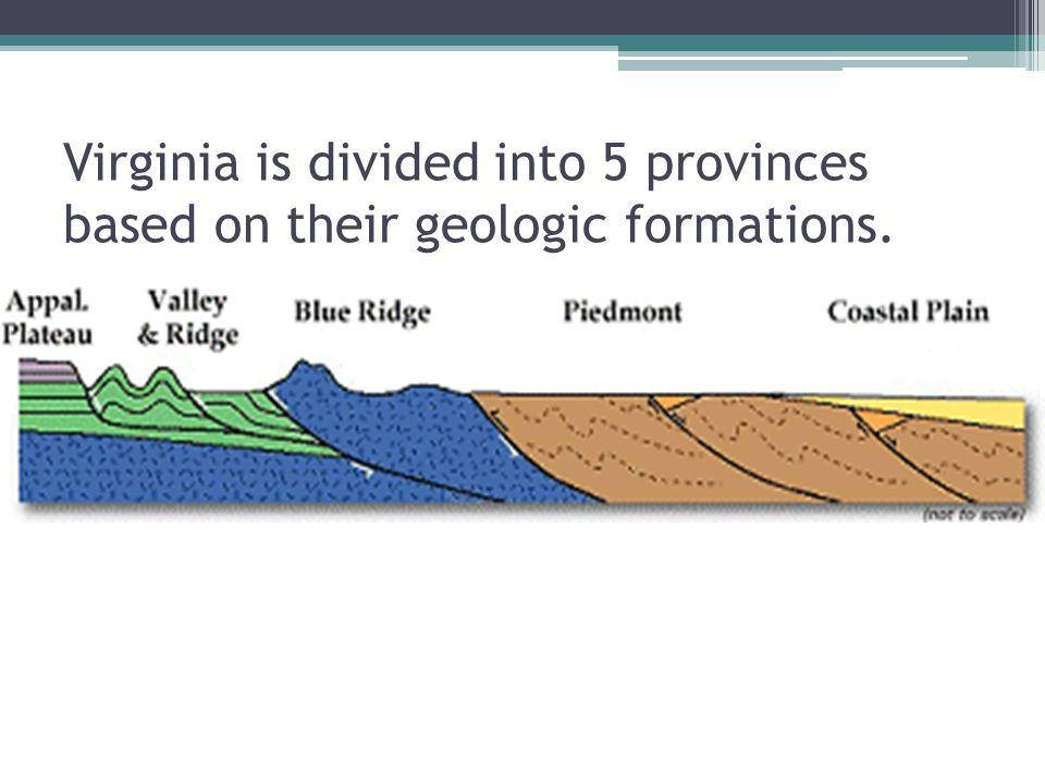 The Answers 1.Coastal Plain 2. Valley and Ridge 3.