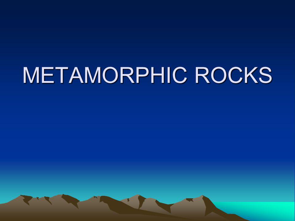 metamorphic rocks How are metamorphic rocks formed.
