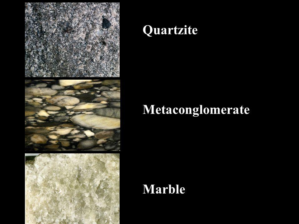 Quartzite Metaconglomerate Marble