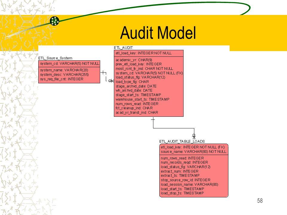 58 Audit Model