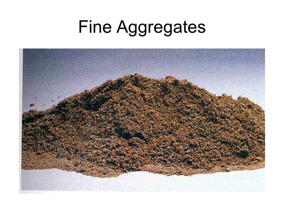 Fine Aggregates