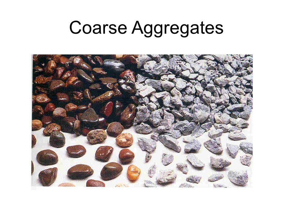 Coarse Aggregates
