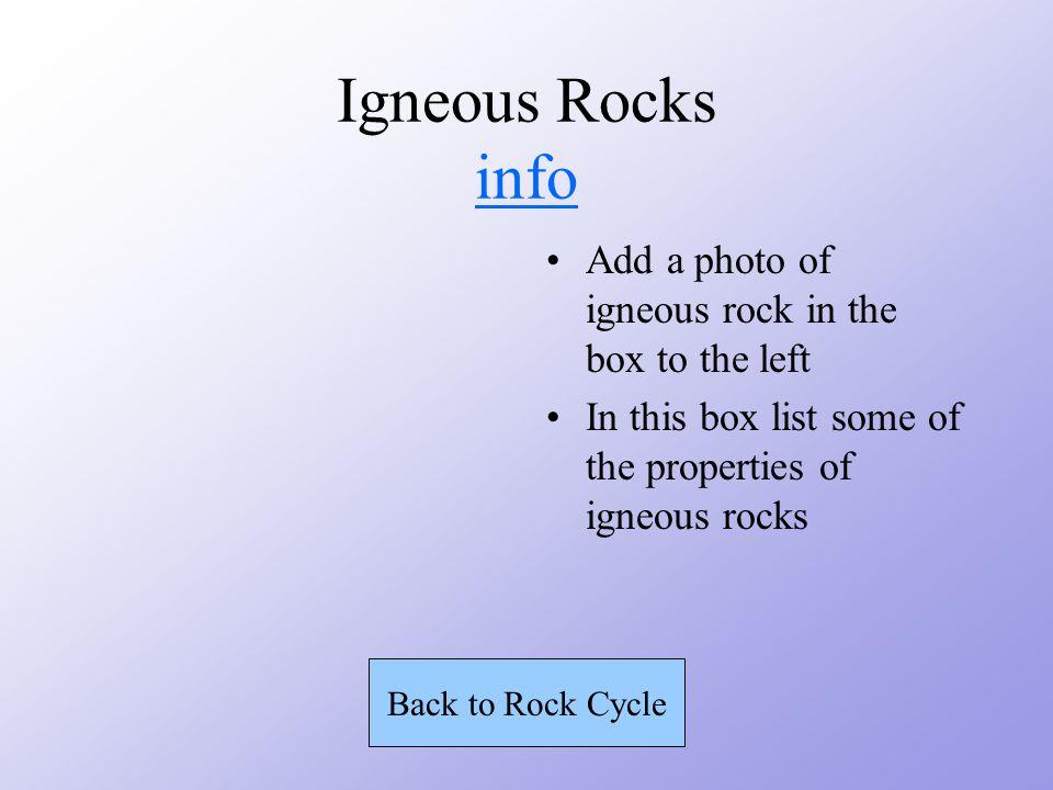 Igneous Rocks MAGMA COOLS