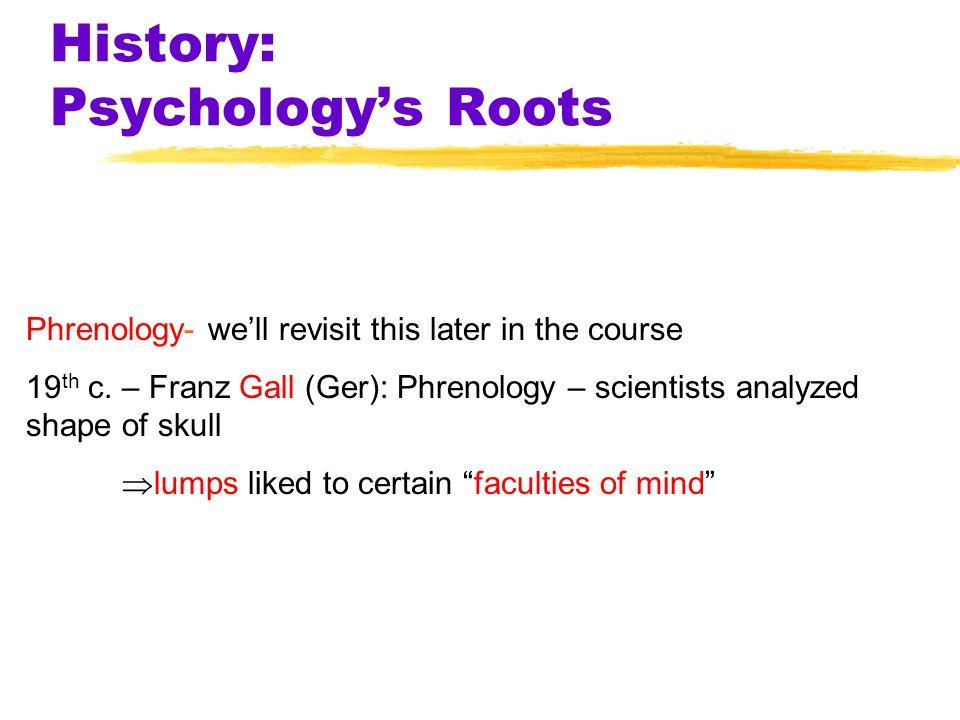 14 Prescientific Psychology Some ideas are inborn (nature) The mind is a blank slate (nurture) SocratesAristotle PlatoLocke How are ideas formed?