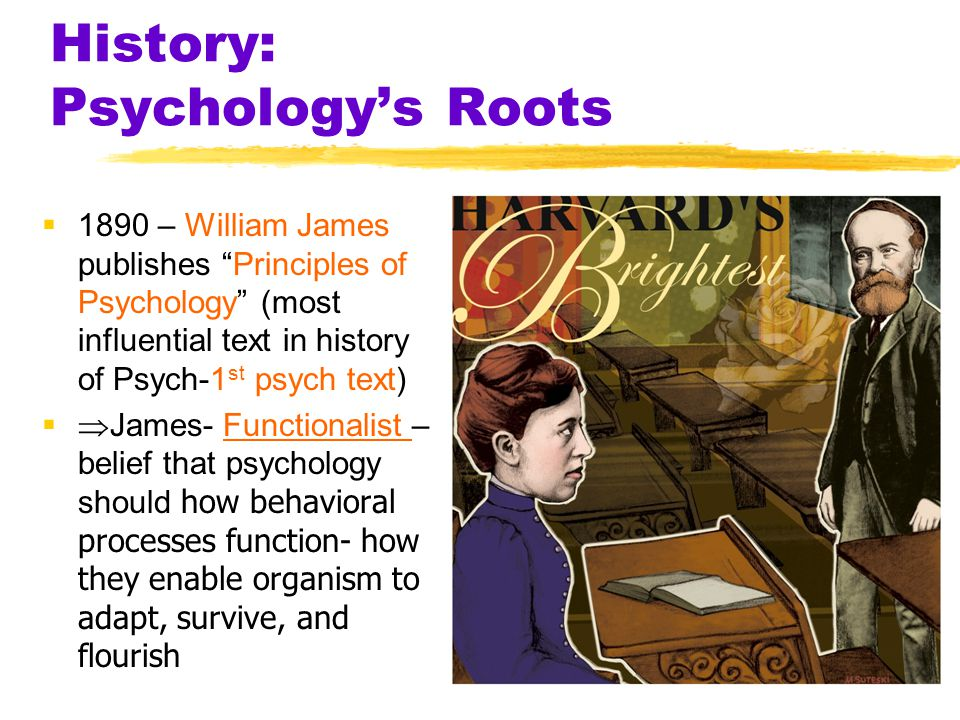 History: Psychology's Roots  Structuralism used introspection (looking in) to explore the elemental structure of the human mind -Introspection of con