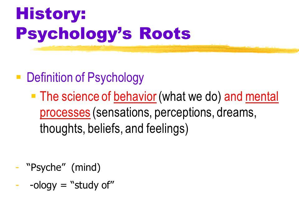 History: Psychology's Roots Figure 1- British Psychological Society membership