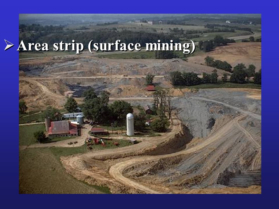 Area strip (surface mining)