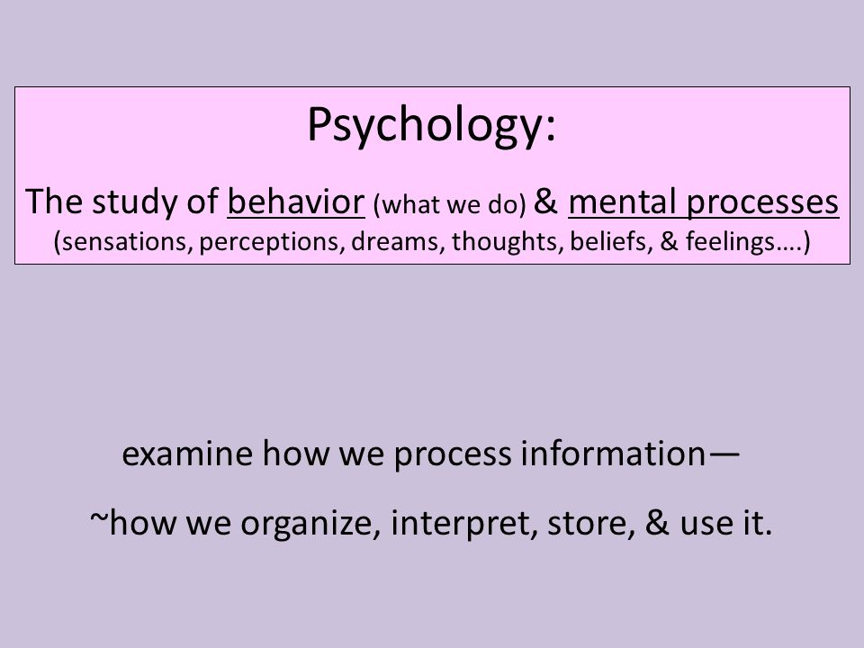 AP PSYCHOLOGY Chapter 1