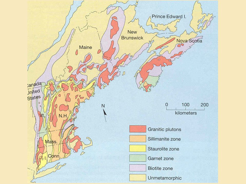 Grades of Regional Metamorphism