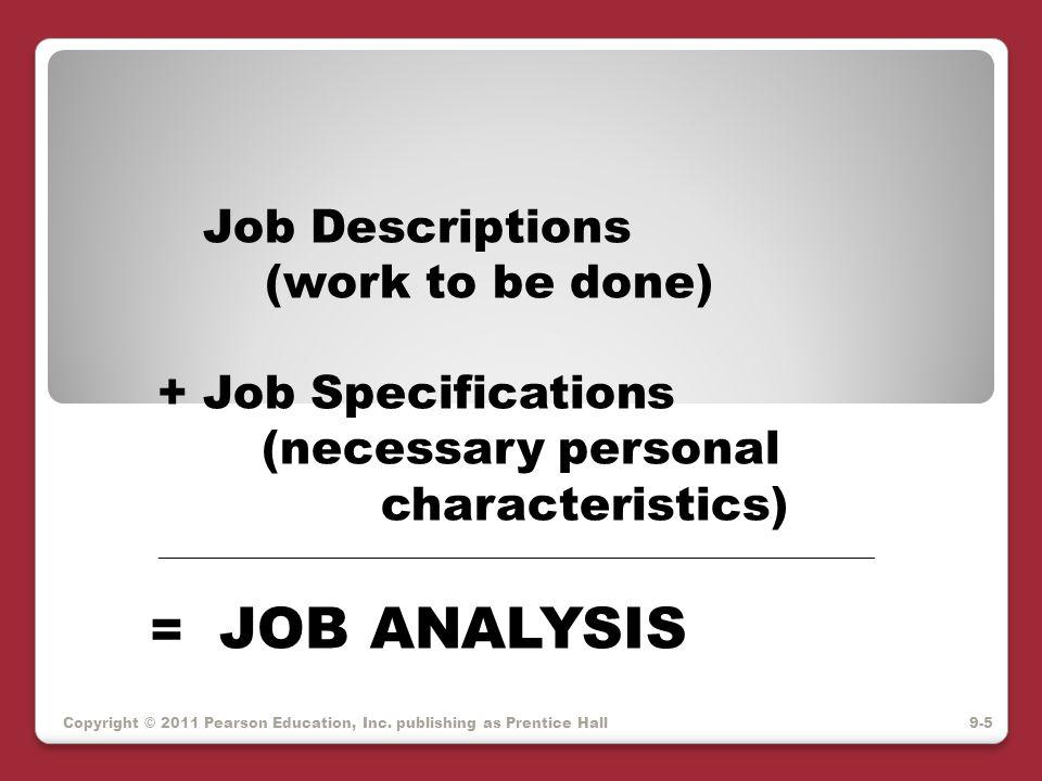 MQ's legally accepted Methodology: 1.Develop tasks list & KSAs for job 2.
