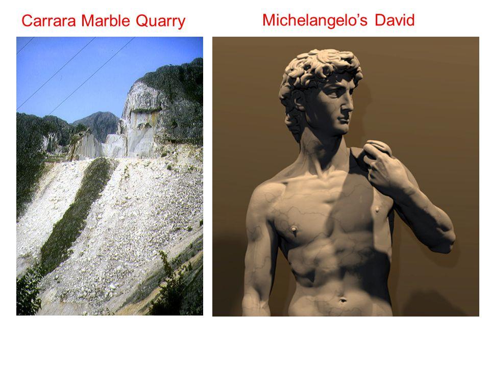 Carrara Marble Quarry Michelangelo's David
