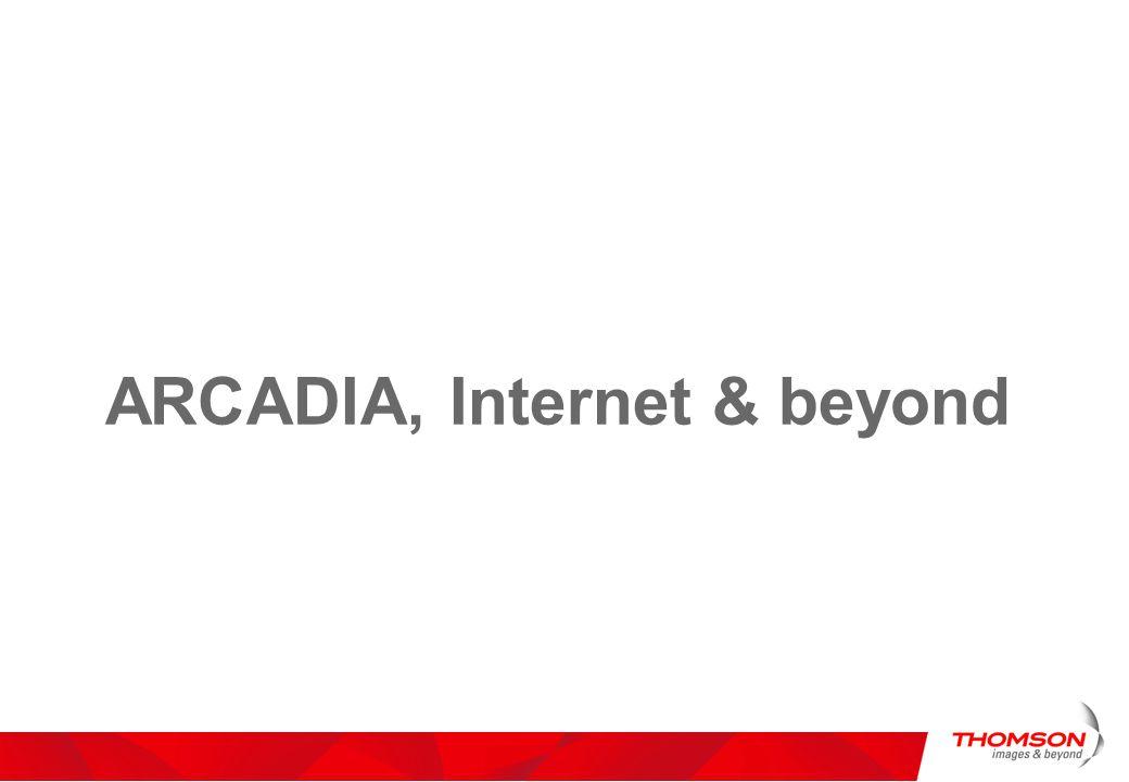 ARCADIA, Internet & beyond