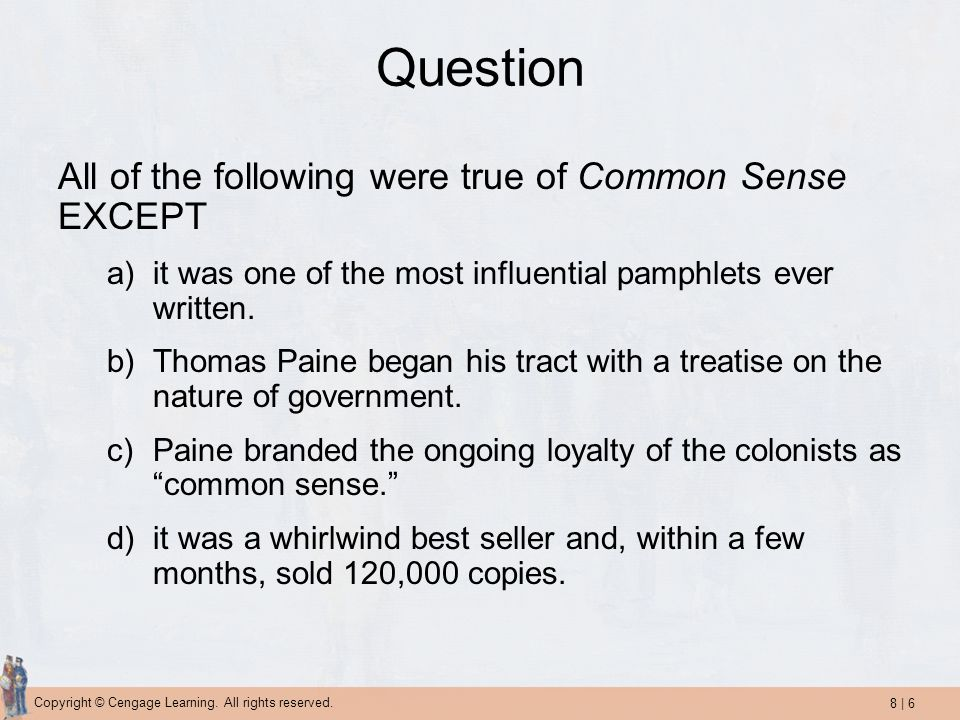 8 | 7 Copyright © Cengage Learning.All rights reserved.