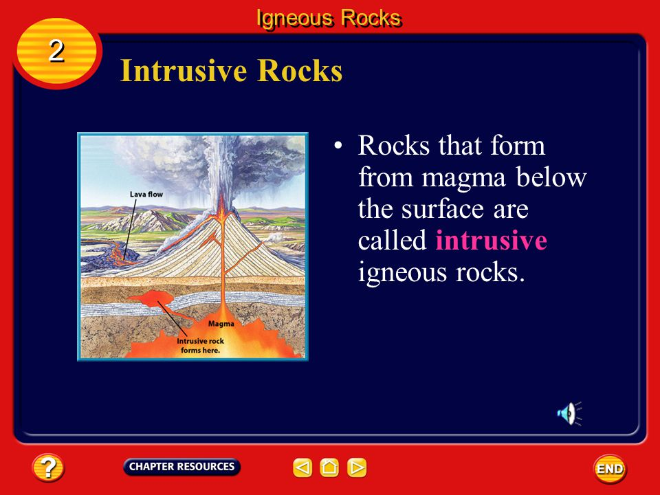 Magma Because magma is less dense than surrounding solid rock, it is forced upward toward the surface. When magma reaches Earth's surface and flows fr