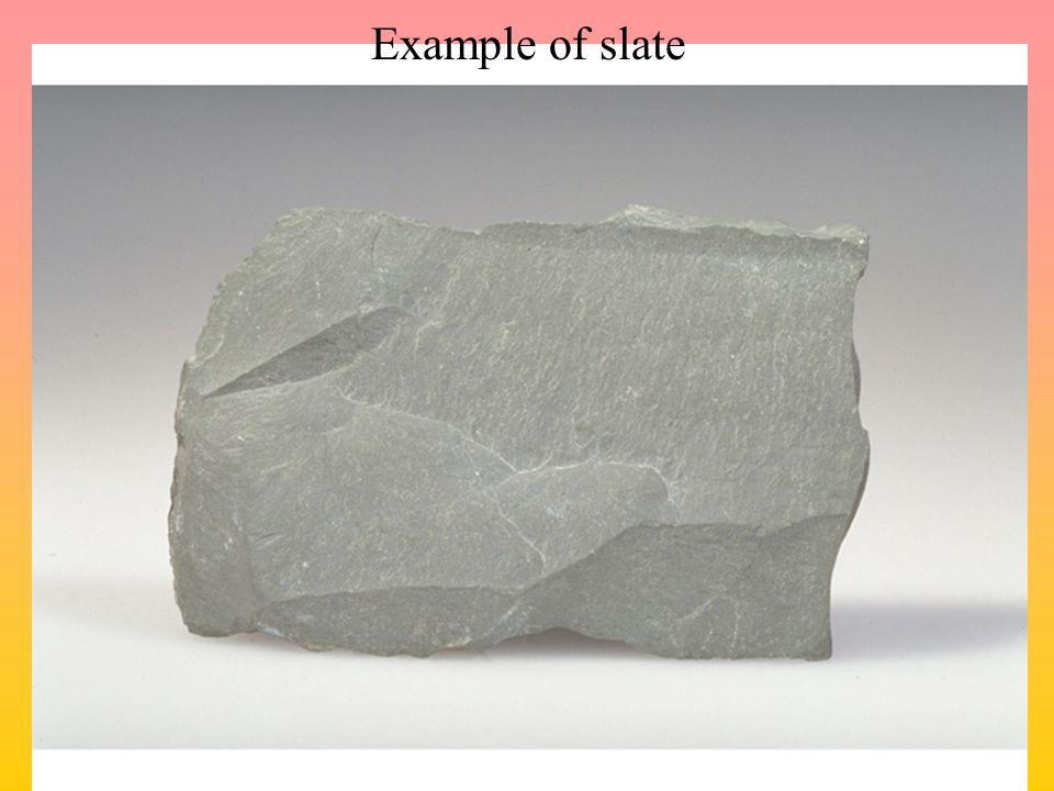 Example of slate