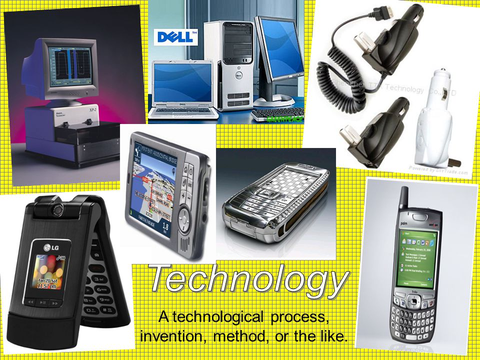 A technological process, invention, method, or the like.