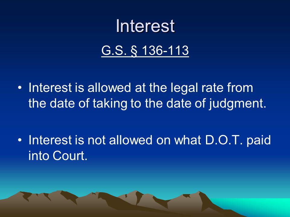 Interest G.S.