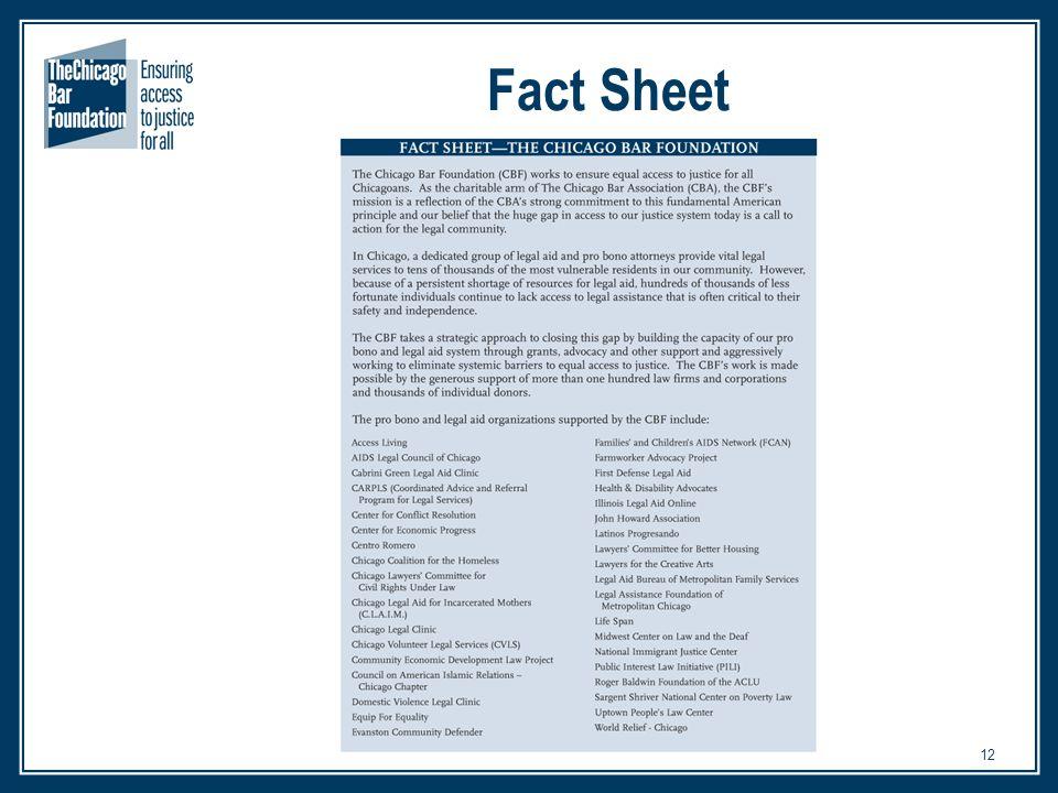 12 Fact Sheet