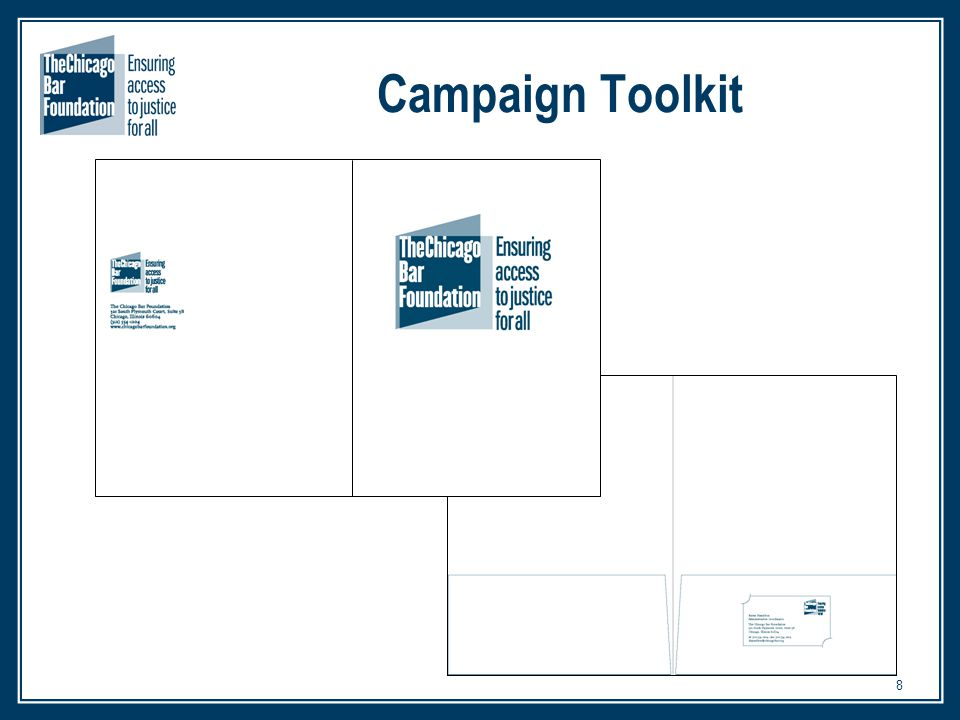 8 Campaign Toolkit