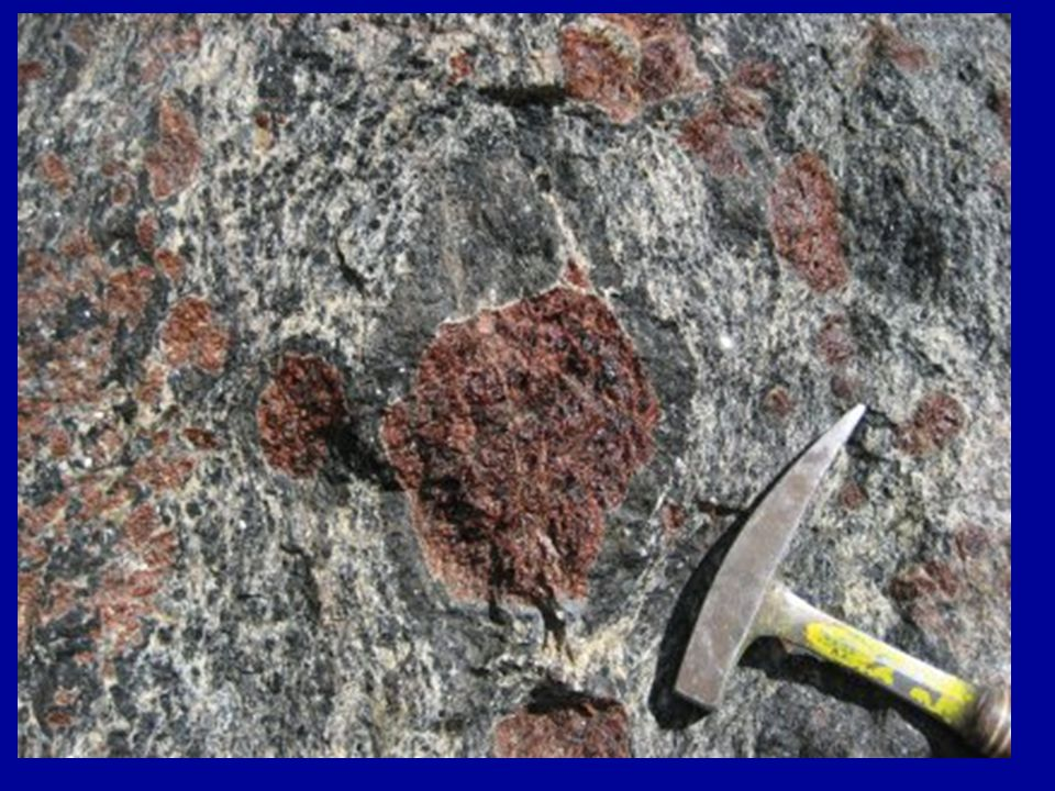 Migmatite -Migmatite is a composite rocks that linked between the metamorphic and igneous rocks.