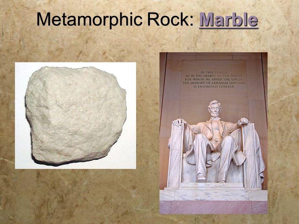 Marble Metamorphic Rock: Marble