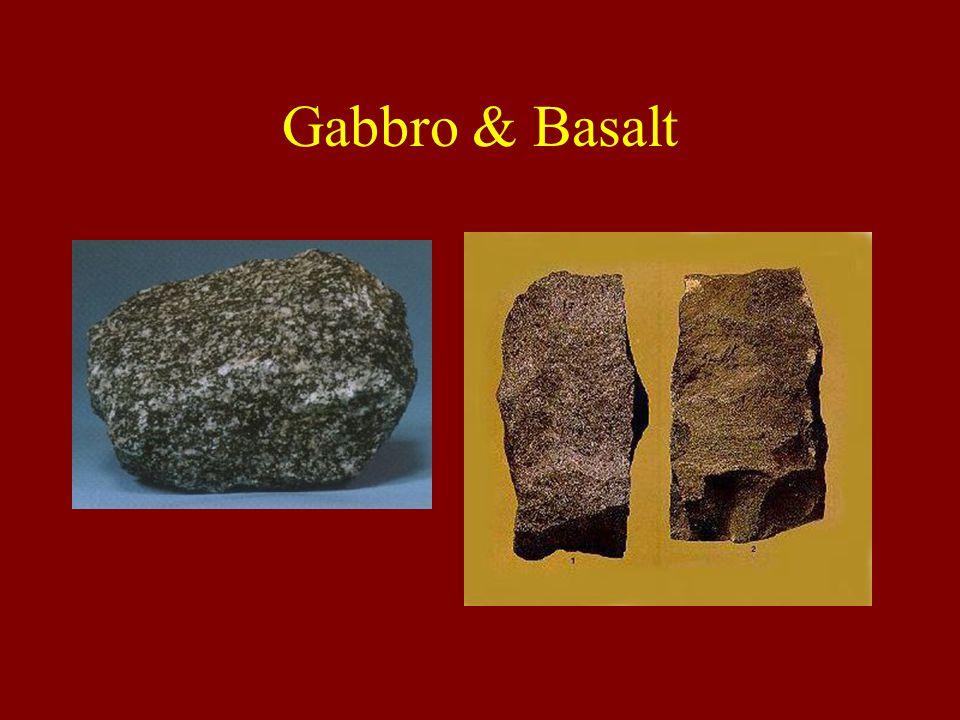 Gabbro & Basalt