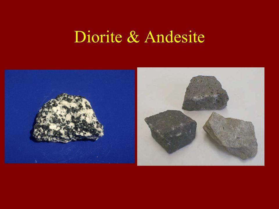 Diorite & Andesite