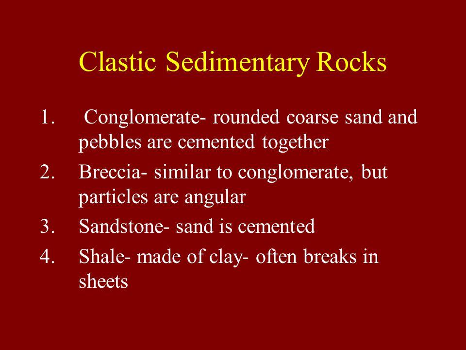 Clastic Sedimentary Rocks 1.
