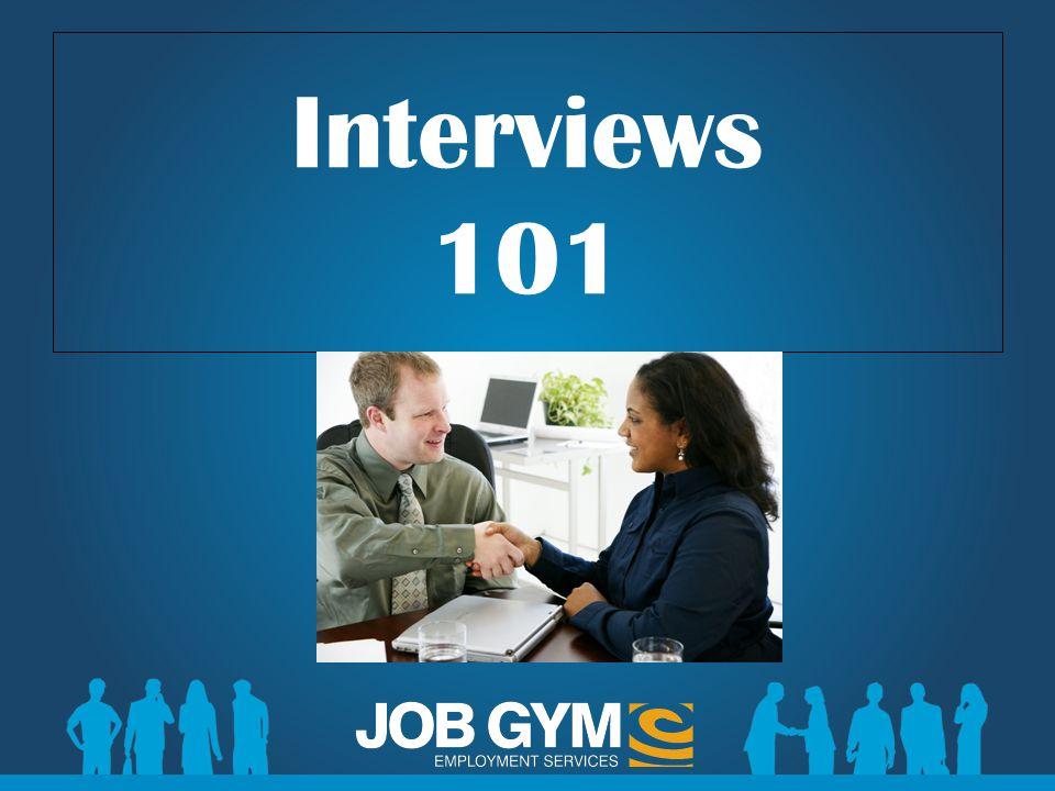 Interviews 101