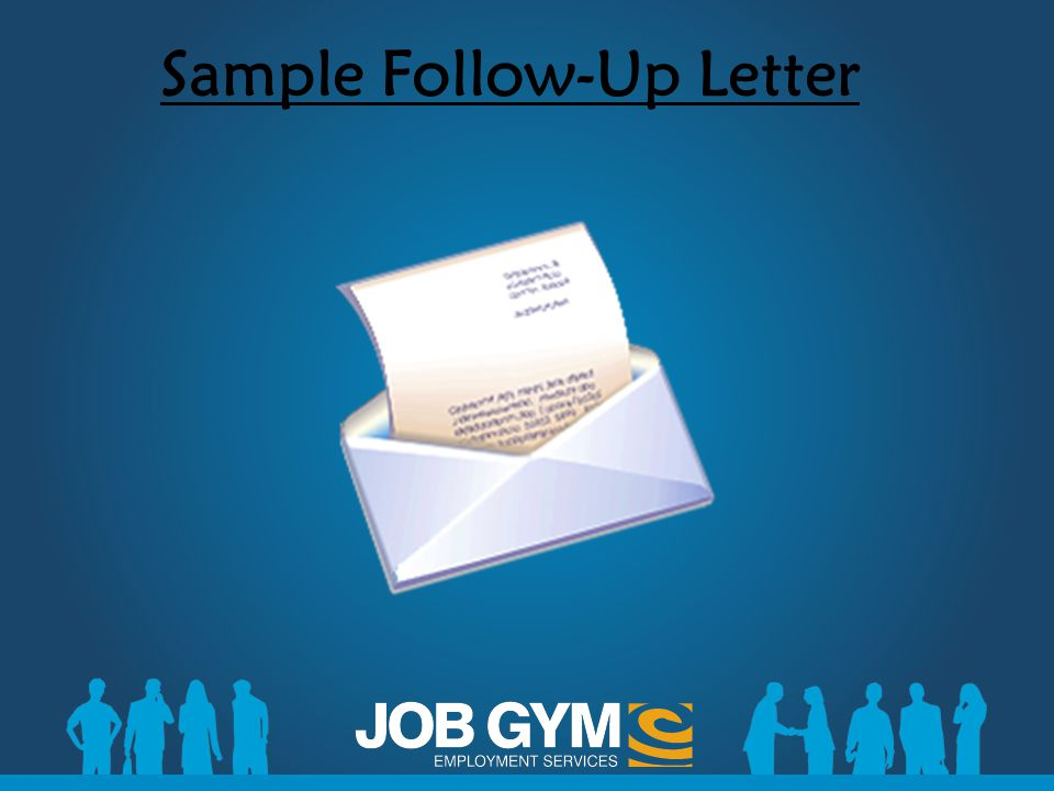 Sample Follow-Up Letter