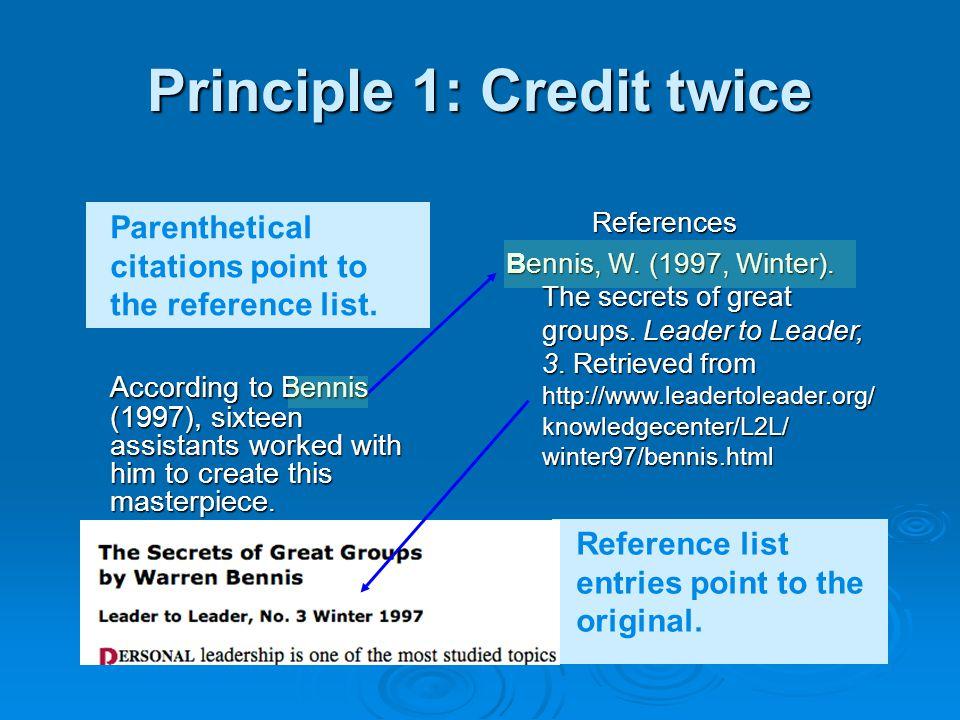 Principle 2: Locate the source Like Hansel and Gretel, follow the breadcrumb trail