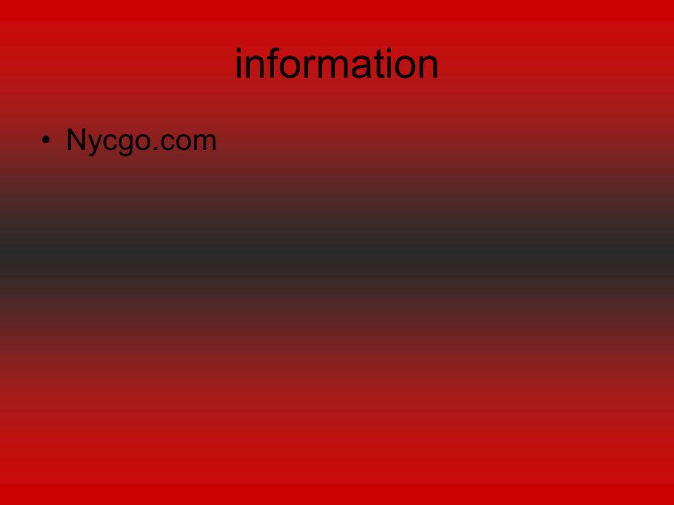 information Nycgo.com