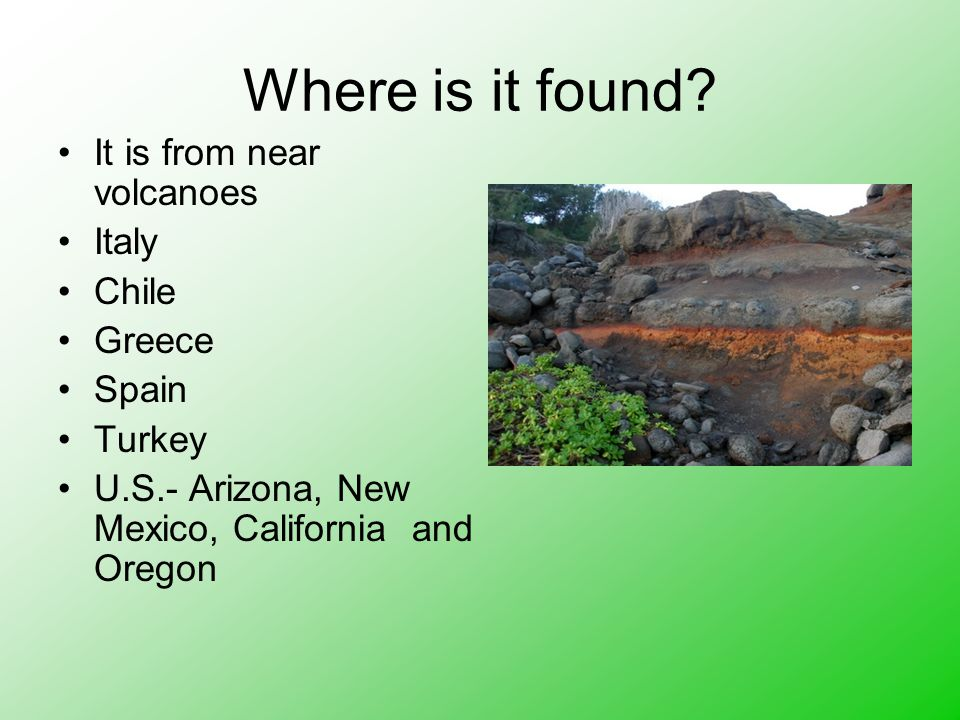 Where is it found.