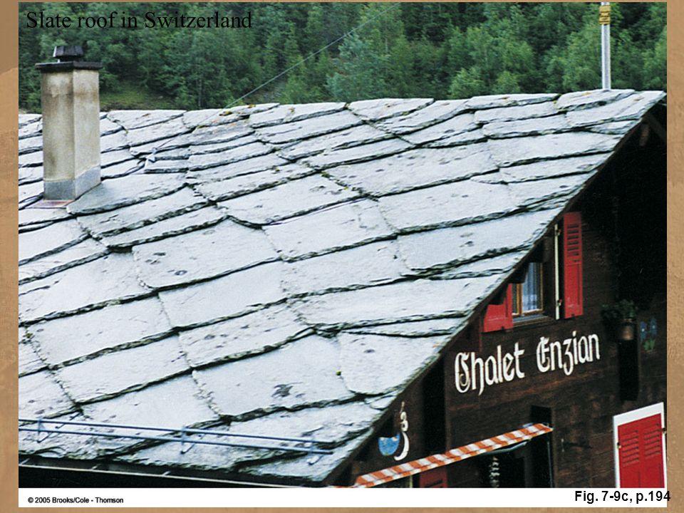 Slate roof in Switzerland Fig. 7-9c, p.194