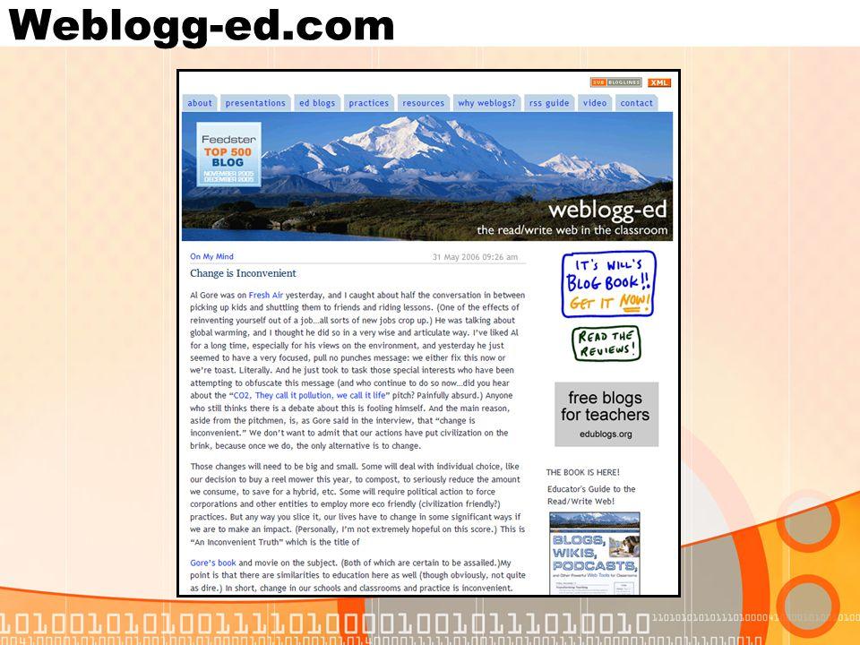 Weblogg-ed.com