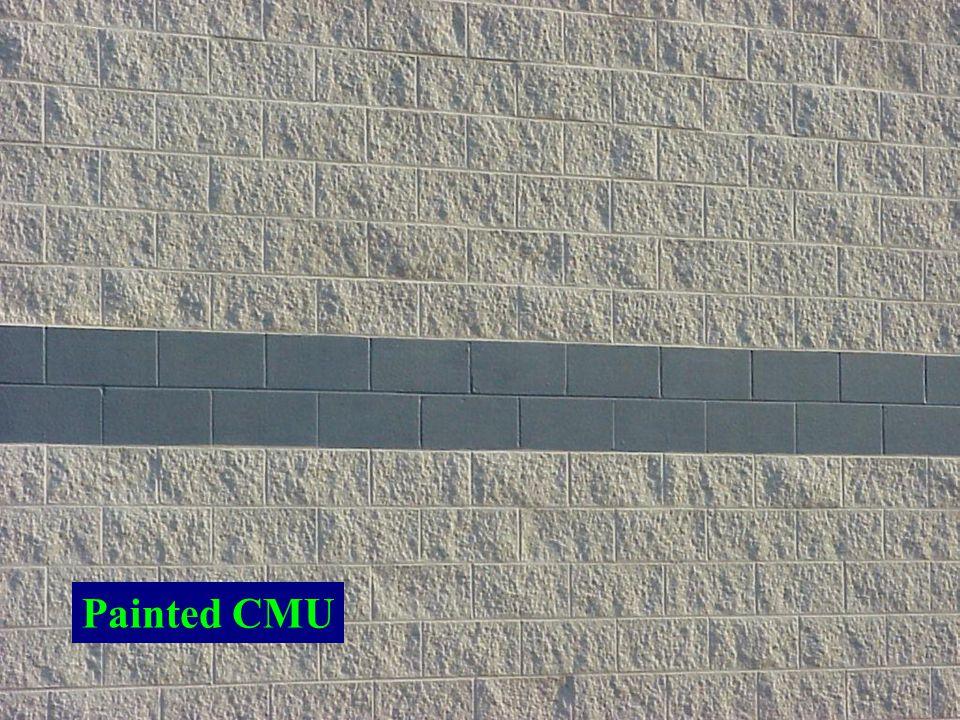 Painted CMU