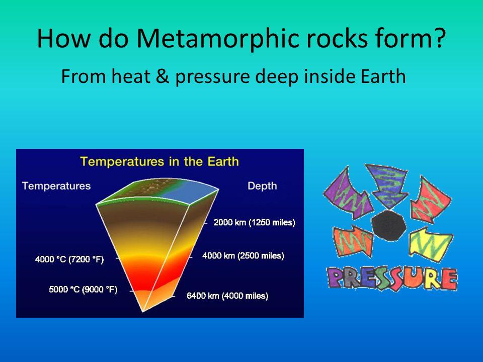 Identification of Metamorphic Rocks