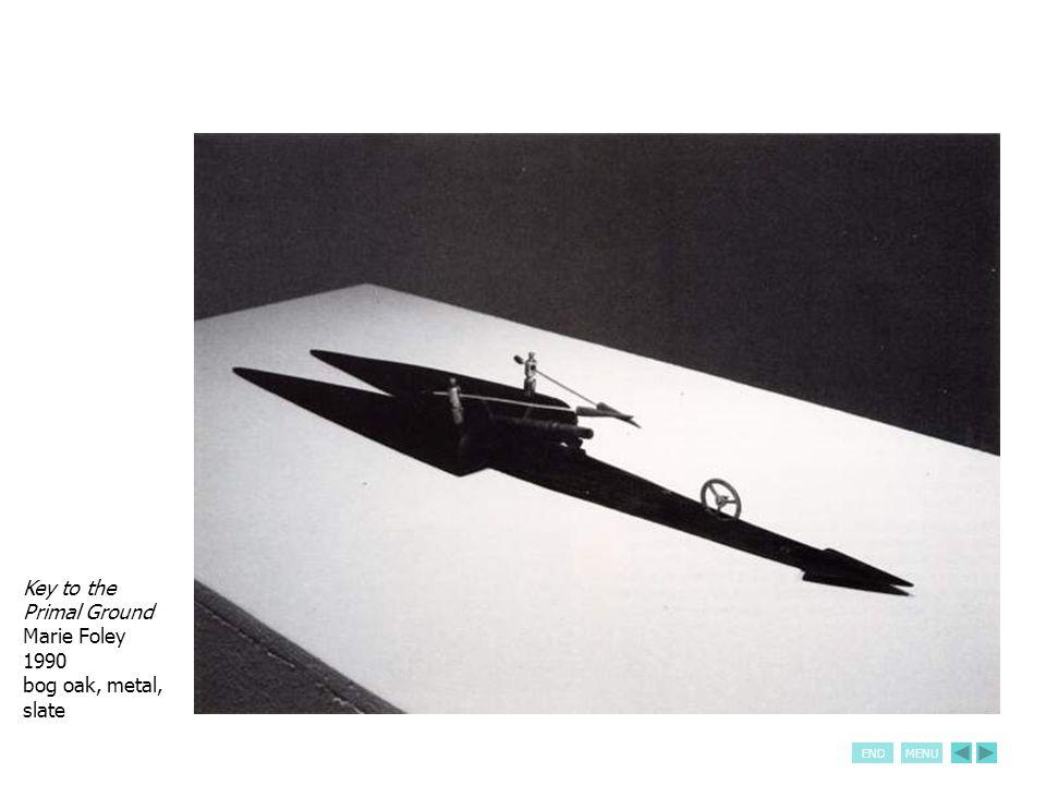 ENDMENU Call to Arms (detail) Gerry Gleason 1990 oil on canvas