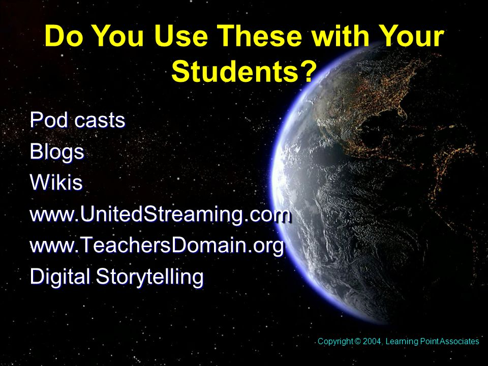 Do You Use These with Your Students.