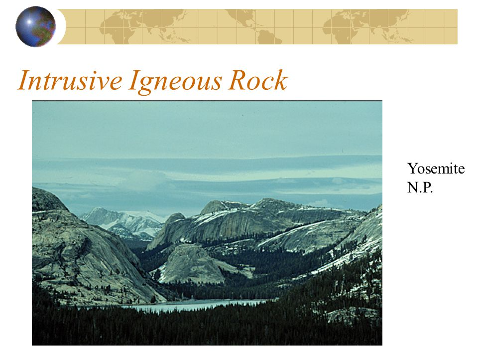 Formation of Intrusive Igneous Rock