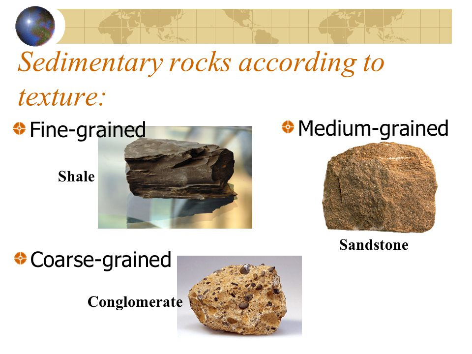 Chemical Sedimentary Rocks… Limestone Gypsum rock Geode