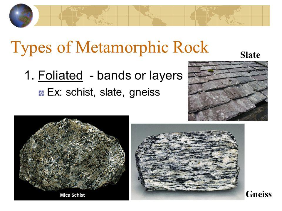 Formation of Metamorphic Rock