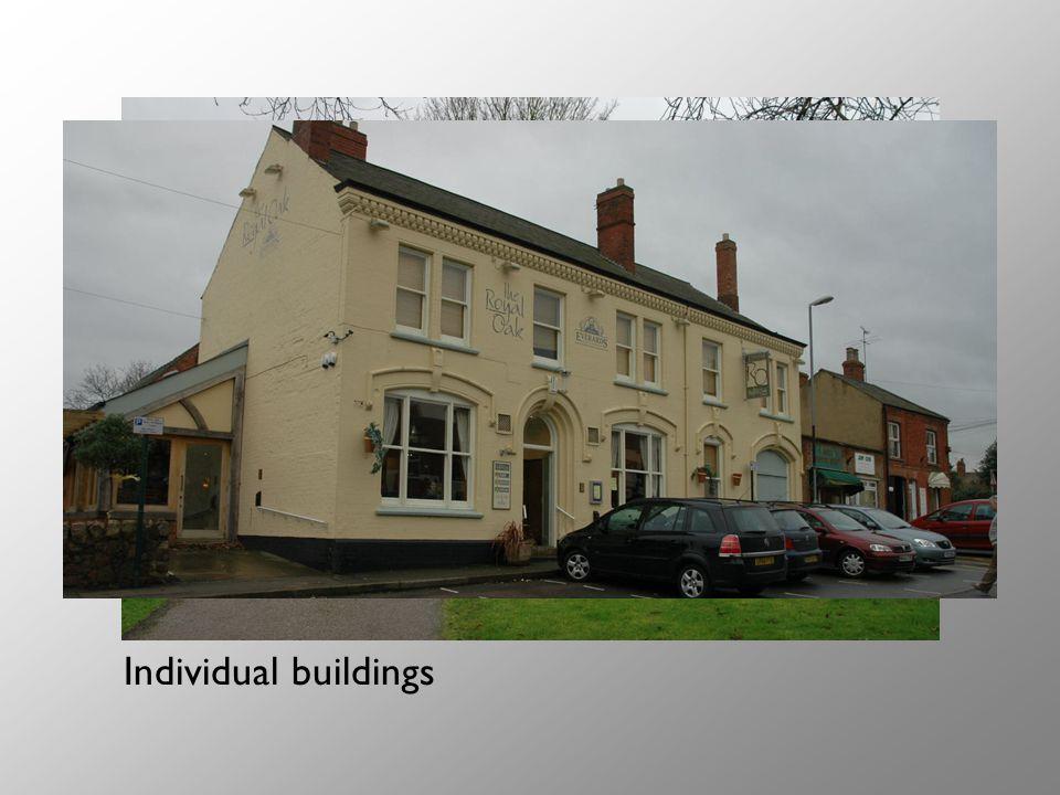Individual buildings