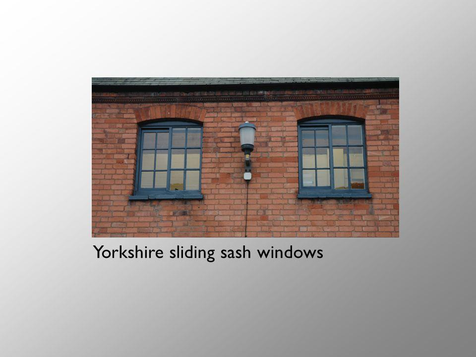 Yorkshire sliding sash windows